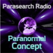 Podcast Paranormal Concept