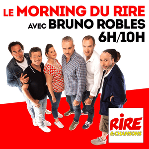 Podcast Le Morning du Rire avec Bruno Roblès