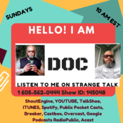 Podcast Strange Talk with Doc